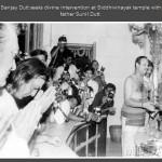 Sanjay Dutt seeks divine intervention at Siddhivinayak temple