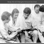 Sanjay Dutt with Shatrughan Sinha and Sunil Dutt