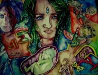 का पुजता मज दुर्गा म्हणुनी मागाया शक्ती अपुल्या अंगी माझ्याच मुलीवर अत्याचाराला ? तू नपुनसकतेचा झालास धनी …. का पुजता रूप सरस्वती विद्देची मज भिक मागता माझ्याच अंशाला अपवित्र करण्या...