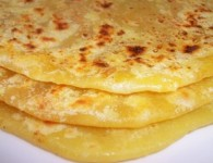 puran poli is a popular maharashtrian recipe made during ganesh chaturthi or diwali or some other festivals. It is a  flat bread stuffed with a sweet lentil filling made from skinned spilt...