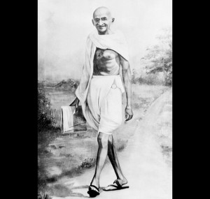 easy essay on mahatma gandhi for kids