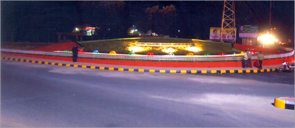 Power_House_Chowk_at_Night