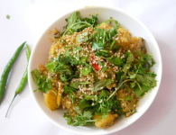Mataki Chatpata : Moth bean having lots of nutritions it contains calories, protein, carbohydrate and fat. Matki Chatpata channa or rajma chaat. Veg. sandwich without butter Sprouted moong matki, moath...