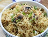 Mushroom pulao: Mushroom pulao is a very tasty and flavorful dish and can be made in a matter of few minutes. Here's a hot, flavorsome pulao recipe with mushrooms. It...