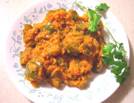 Dhobli Mirchichi Partun Bhaji – Recipe for Capsicum veg- Here is the recipe of Capsicum veg. Capsicum is also called as Simla Mirchi popularly or Dhobli Mirchi in Marathi. साहित्य...