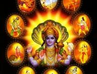 Aarti Dashavatarachi-This aarti is sung in the glory of god Vishnu. Dashavatara refers to the ten avatars of god Vishnu who is the hindu god of preservation. आरती सप्रेम जय...