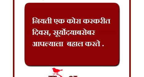 Marathi Suvichar Month May Get Latest Suvichar 2017